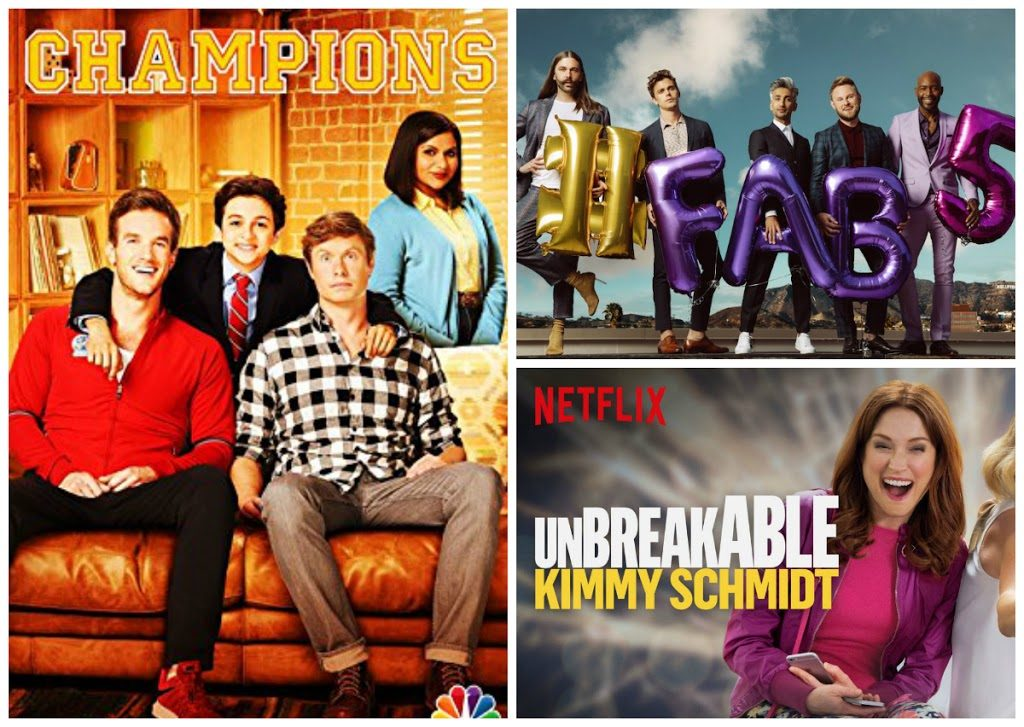 Netflix: Queer Eye, Champions, Unbreakable Kimmy Schmidt