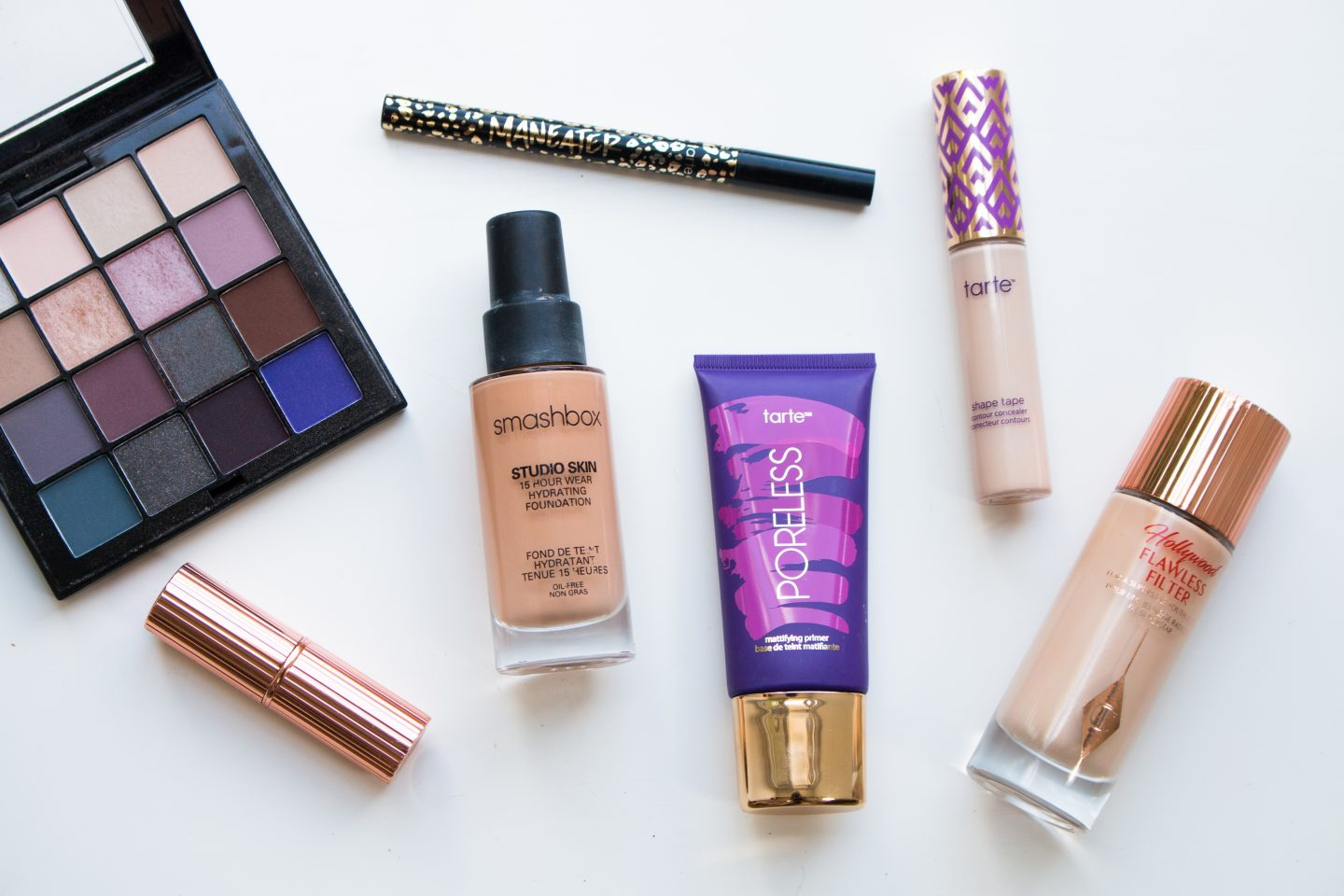Cruelty-free beauty products from Tarte, NYX, Smashbox and Charlotte Tilbury