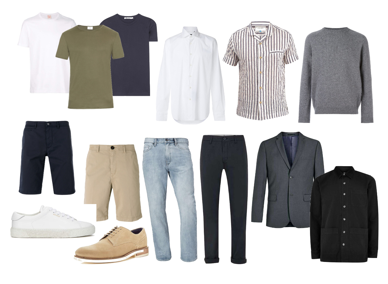 A spring/summer capsule wardrobe for men